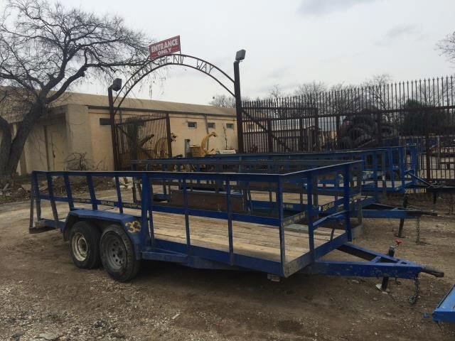 Where to find TRAILER, 16 , 3  SIDE DK BLUE in Austin