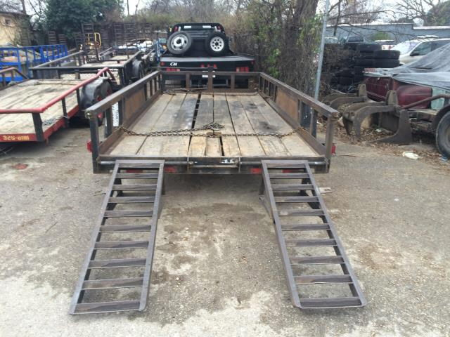 Where to find TRAILER, 16  LOW SD RAMP BLUE RH in Austin